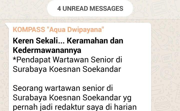 Wejangan Dr. Aqua Dwipayana 31 Juli 2017 15.00