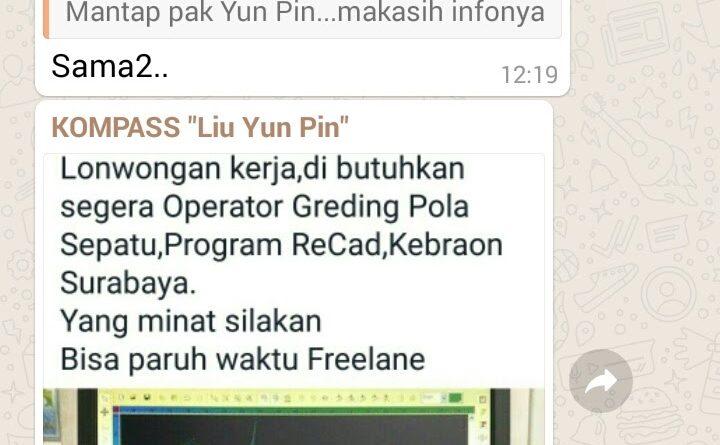 Lowongan Kerja Freelance di Surabaya