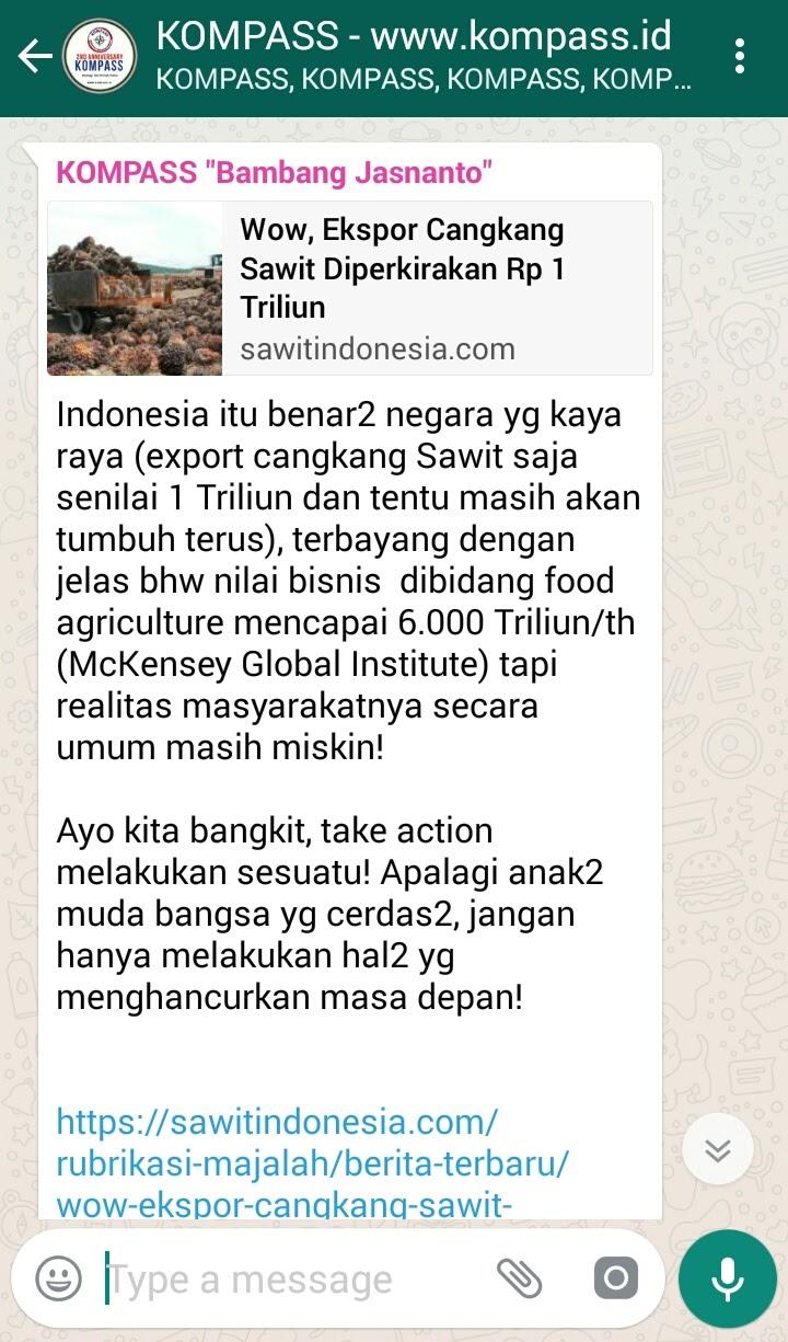 Pencerahan dari Bambang Jasnanto