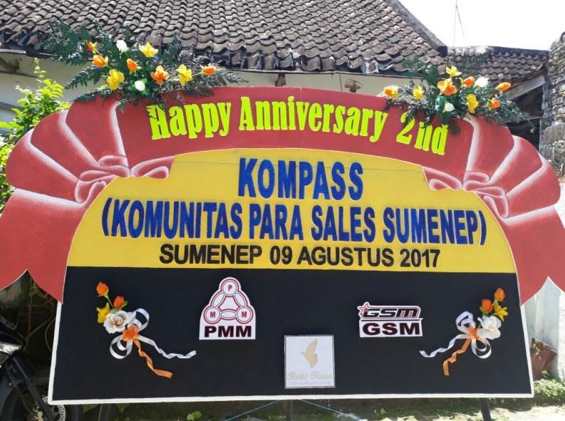 Ucapan Selamat atas Perayaan 2 Tahun KOMPASS dari Ratna Inadewi