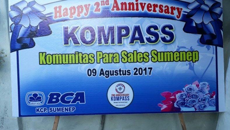 Ucapan Selamat atas Perayaan 2 Tahun KOMPASS dari Samsul Hadi