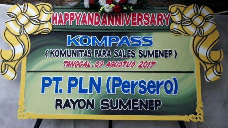 Ucapan Selamat atas Perayaan 2 Tahun KOMPASS dari Slamet ST