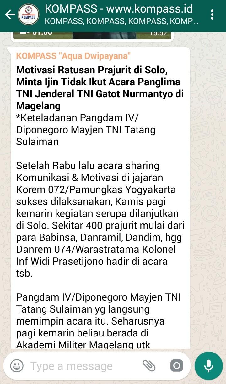 Wejangan Dr. Aqua Dwipayana 4 Agustus 2017