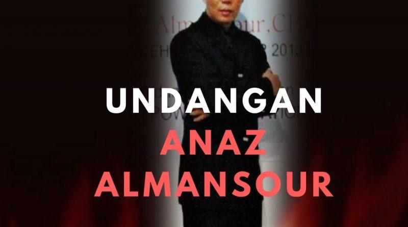 Undangan Anaz Almansour untuk Mentor, Coach, Konsultan dan Trainer Bisnis