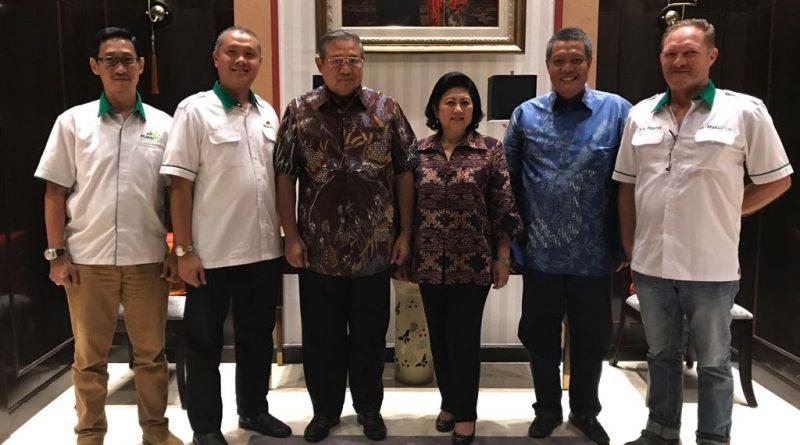 Maksiplus Diminta Secara Resmi oleh Soesilo Bambang Yudhoyono untuk Pelatihan dan Pedampingan