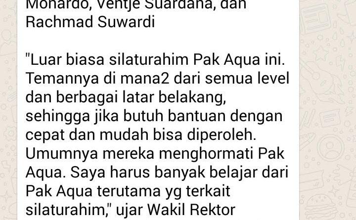 Dahsyatnya Silaturahim, Cepat Mendapat Pinjaman Mobil serta Kamar Hotel di Jakarta dan Bandara Juanda Surabaya