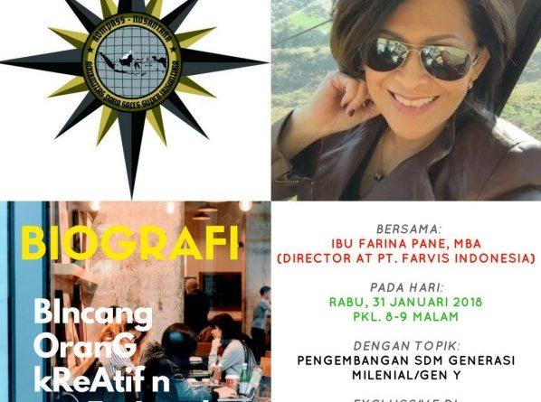 Program Biografi KOMPASS Nusantara 31 Januari 2018
