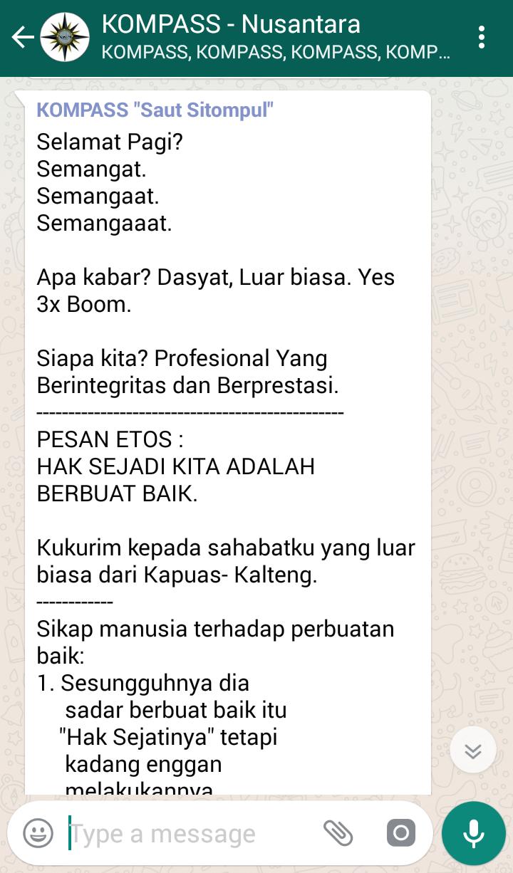 Penyampaian Saut Sitompul Pakar ETOS KERJA Indonesia 9 Maret 2018