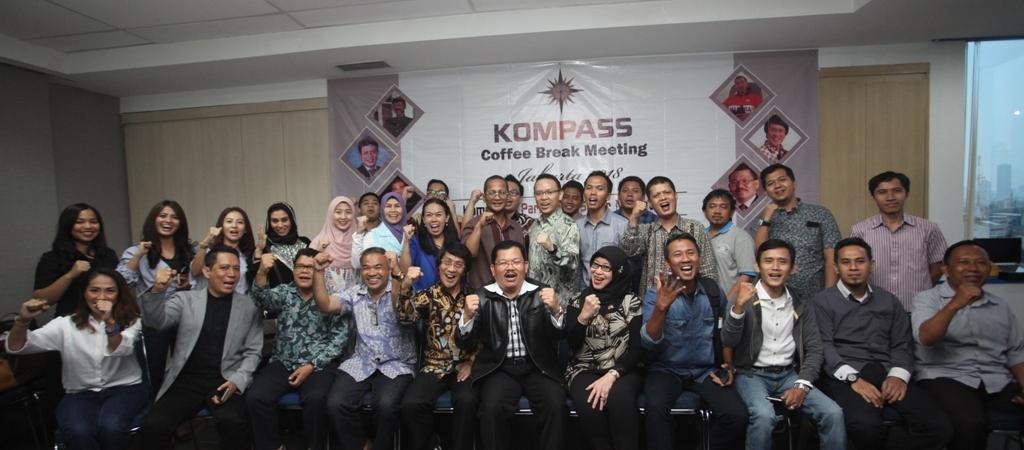 KOMPASS COFFEE BREAK MEETING Maret 2018 di Jakarta