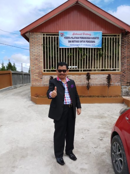 Bapak ETOS KERJA Indonesia Saut Sitompul di Doloksanggul