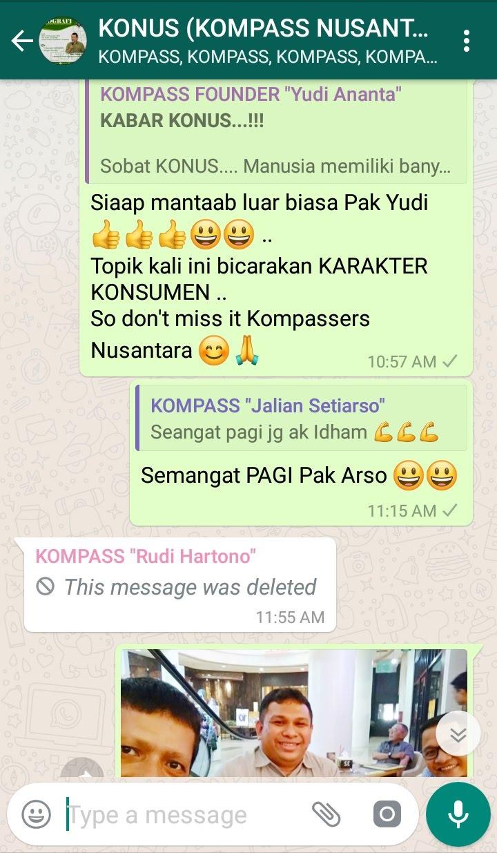 Komentar Program Biografi KOMPASS Nusantara 21 November 2018 oleh Co-founder Muhammad Idham Azhari