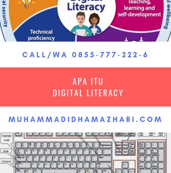 Konsep LITERASI DIGITAL Akan Dipaparkan Pada Beberapa Kesempatan Oleh Muhammad Idham Azhari