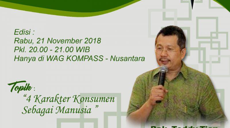 Program Biografi KOMPASS Nusantara 21 November 2018