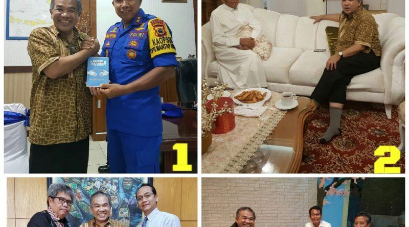 Lancar sekali Silaturahim di Banjarmasin dan Makassar