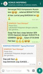 Komentar Muhammad Idham Azhari KONUS Digital 11 Januari 2019 melalui WAG KOMPASS Nusantara