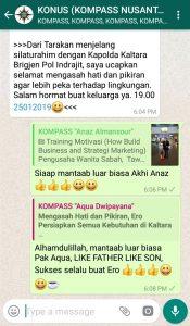 Komentar Muhammad Idham Azhari KONUS Digital 25 Januari 2019 melalui WAG KOMPASS Nusantara
