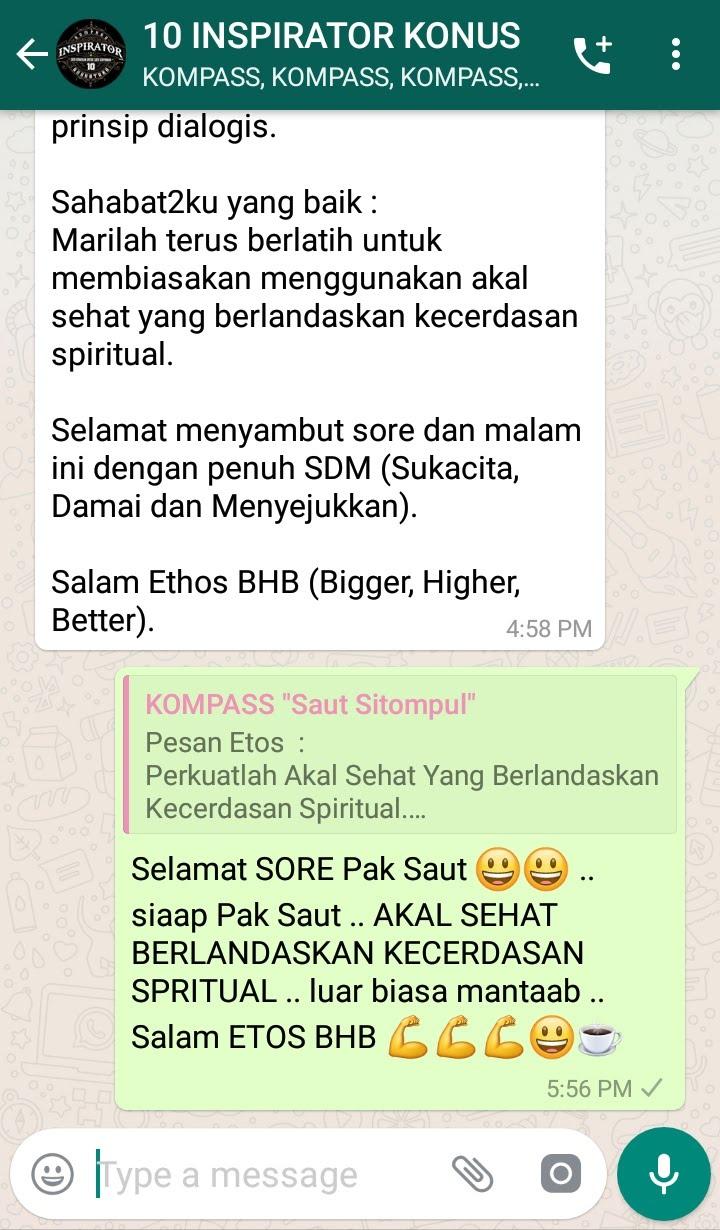 Komentar Muhammad Idham Azhari KONUS Digital 31 Januari 2019