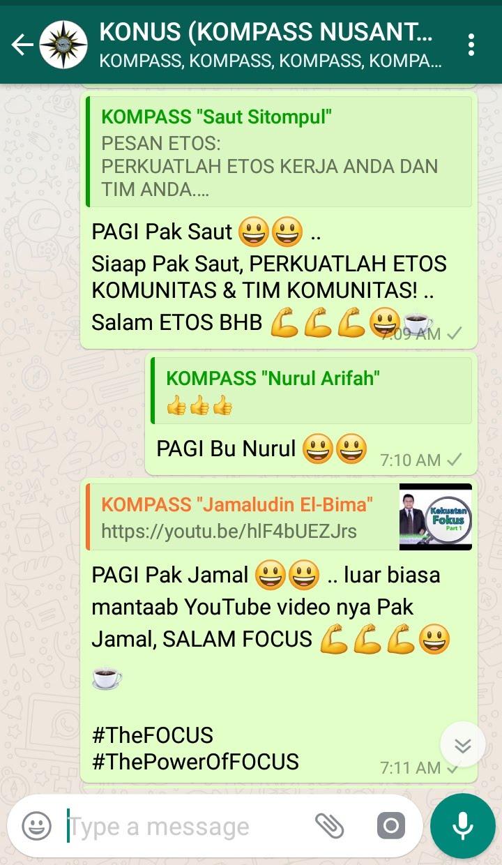Komentar Muhammad Idham Azhari KONUS Digital Marketing 26 Januari 2019