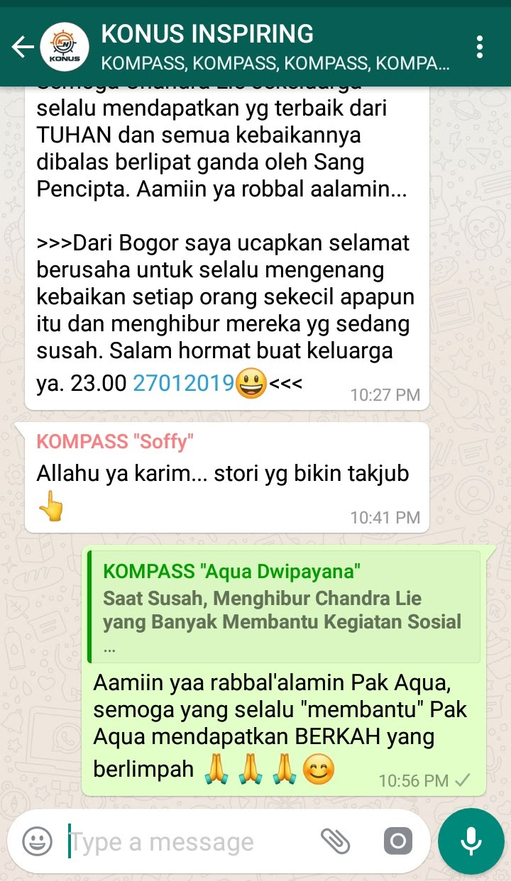 Komentar Muhammad Idham Azhari KONUS Digital Marketing 27 Januari 2019