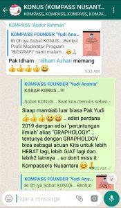 Komentar Program Biografi KOMPASS Nusantara 2 Januari 2019 oleh KONUS Digital Muhammad Idham Azhari