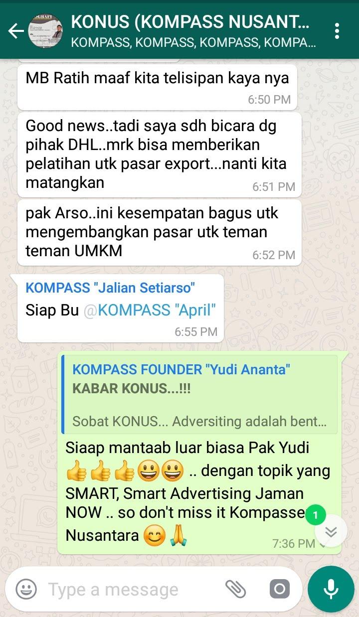 Komentar Program Biografi KOMPASS Nusantara 30 Januari 2019 oleh KONUS Digital Muhammad Idham Azhari