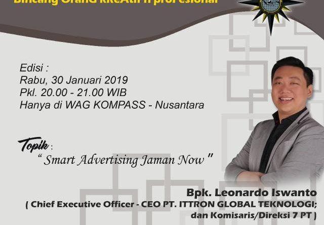 Program Biografi KOMPASS Nusantara 30 Januari 2019
