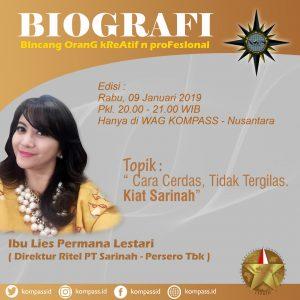 Program Biografi KOMPASS Nusantara 9 Januari 2019