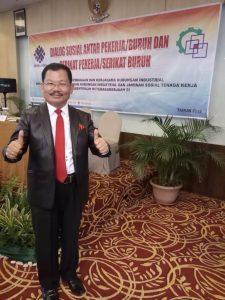 Guru Etos Indonesia Saut Sitompul di Tebu Hotel Bandung