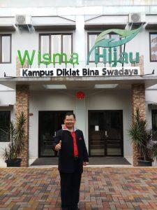 Guru Etos Indonesia Saut Sitompul di Wisma Hijau