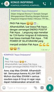 Komentar Muhammad Idham Azhari KONUS Digital 1 Februari 2019 melalui WAG KOMPASS Nusantara