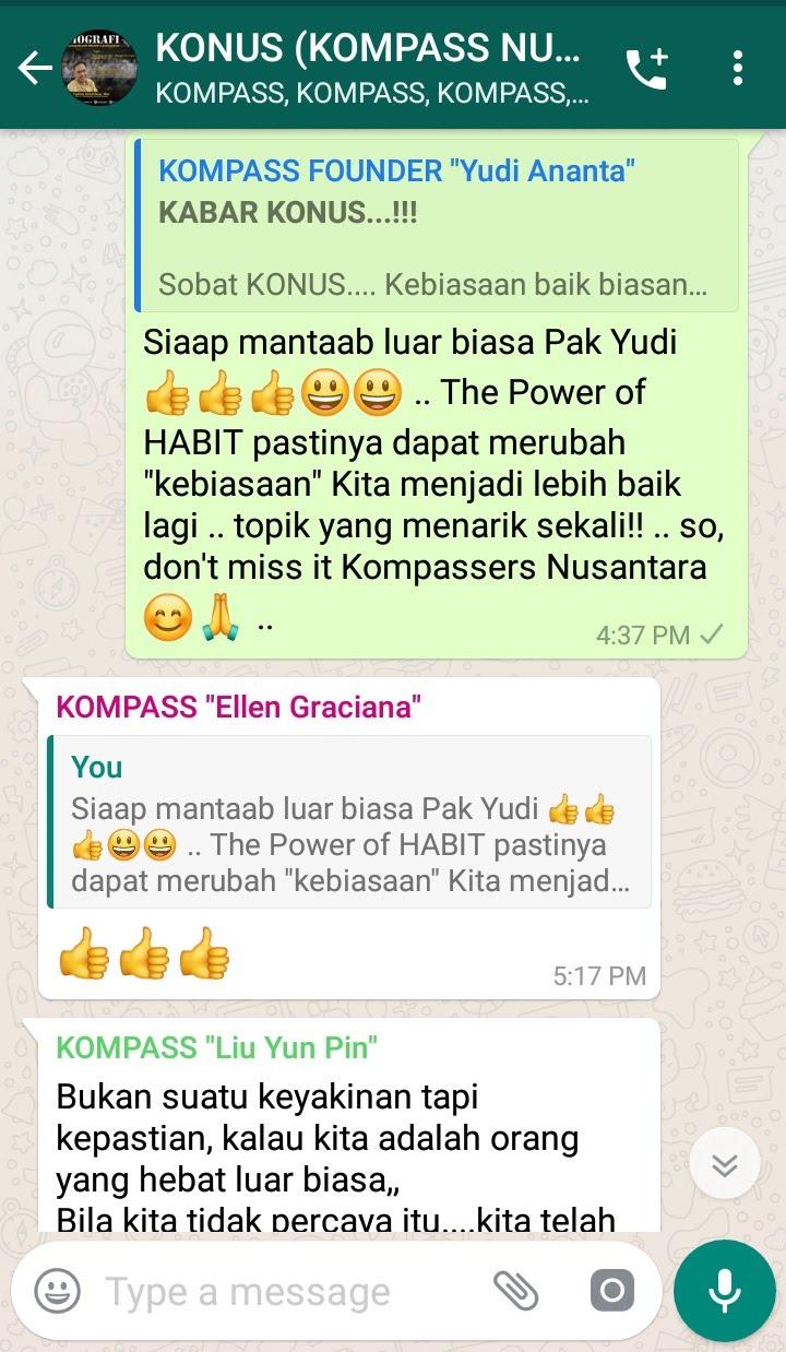 Komentar Program Biografi KOMPASS Nusantara 13 Februari 2019 oleh KONUS Digital Muhammad Idham Azhari