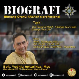 Program Biografi KOMPASS Nusantara 13 Februari 2019