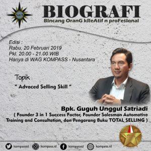 Program Biografi KOMPASS Nusantara 20 Februari 2019
