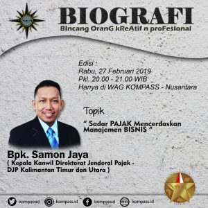 Program Biografi KOMPASS Nusantara 27 Februari 2019