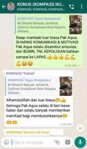 Komentar Muhammad Idham Azhari KONUS Digital 9 Maret 2019 melalui WAG KOMPASS Nusantara