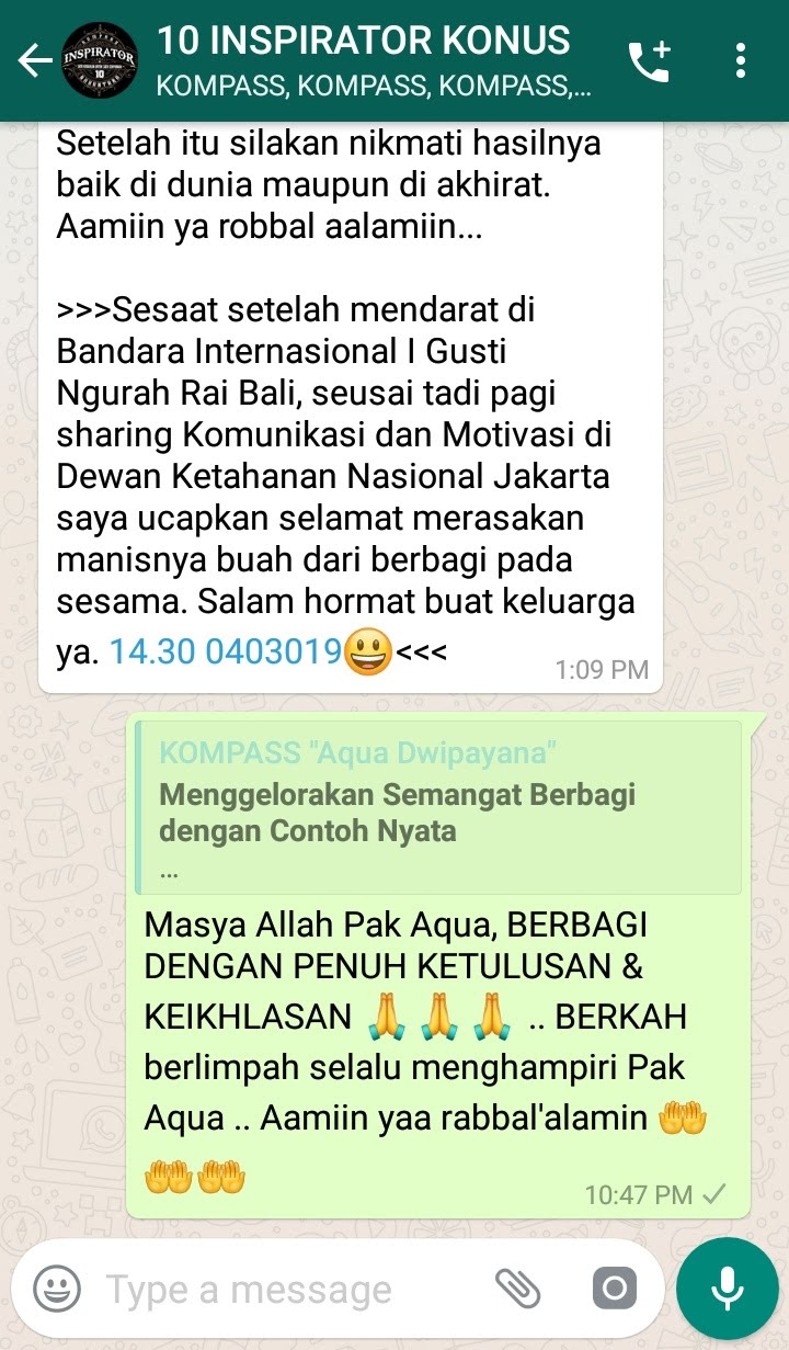 Komentar Muhammad Idham Azhari KONUS Digital Marketing 4 Maret 2019