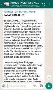 Penyampaian Program KLINIK KOMPASS Nusantara 28 Maret 2019 oleh Founder Yudi Ananta