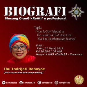 Program Biografi KOMPASS Nusantara 20 Maret 2019