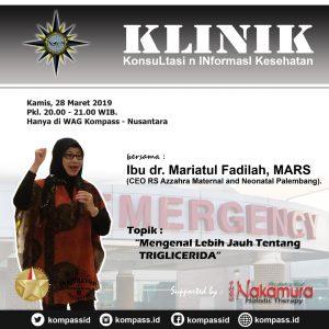 Program KLINIK KOMPASS Nusantara 28 Maret 2019