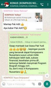 Komentar Muhammad Idham Azhari KONUS Literasi Digital 13 Mei 2019 melalui WAG KOMPASS Nusantara