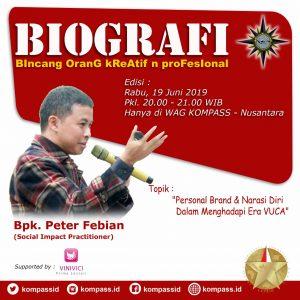 Program Biografi KOMPASS Nusantara 19 Juni 2019