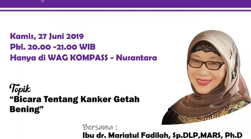 Program KLINIK KOMPASS Nusantara 27 Juni 2019