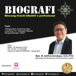 Program BIOGRAFI KOMPASS Nusantara 28 Agustus 2019