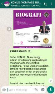 Penyampaian oleh Co-founder Muhammad Idham Azhari 8 Oktober 2019 melalui WAG KOMPASS Nusantara