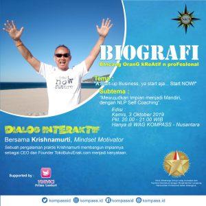Program BIOGRAFI KOMPASS Nusantara 3 Oktober 2019
