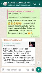 Komentar Idham Azhari KONUS UMKM 25 November 2019