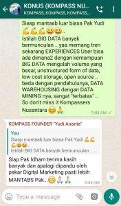 Komentar Muhammad Idham Azhari KONUS Digital Marketing 20 November 2019