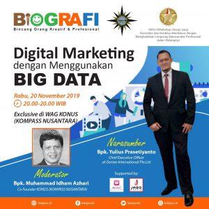 Program BIOGRAFI KOMPASS Nusantara 20 November 2019