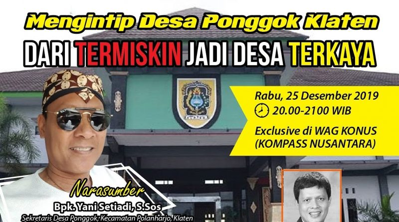 Program BIOGRAFI KOMPASS Nusantara 25 Desember 2019