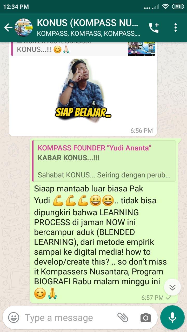 Komentar Co-founder Idham Azhari KONUS Literasi Digital 10 Februari 2020